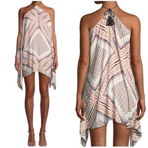 The Jetset Diaries Zissou Mini halter dress